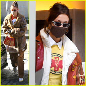 Bella Hadid Donates Warm Coats, Boots & More As Winter Arrives In New York City
