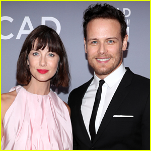 Caitriona Balfe Reacts to Sam Heughan's Sexiest Celebrity of 2020 Title!