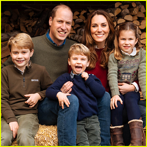Prince William & Kate Middleton Reveal New Family Photo On Their 2020 Christmas Card!