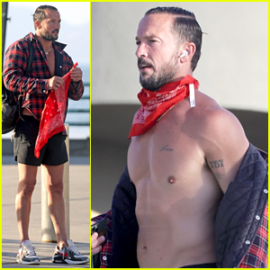 Pastor Carl Lentz Bares Ripped Body at the Beach Amid Allegations of More Affairs