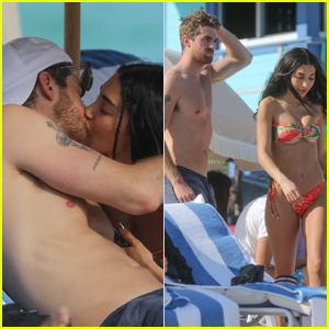 Chantel Jeffries & Drew Taggart Pack on the PDA at the Beach in Miami!