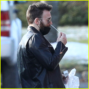 Chris Evans Self-Administers COVID-19 Test on 'Don't Look Up' Set - His Confirmed Next Project!