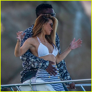 Chrishell Stause & Keo Motsepe Flaunt PDA in Cabo While On a Boat with Gleb Savchenko & Cassie Scerbo