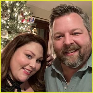 Chrissy Metz Cozies Up to Boyfriend Bradley Collins in Christmas Selfie!