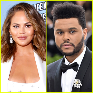 Chrissy Teigen Couldn't Figure Out the Song She Heard & The Weeknd Helped Her Out!