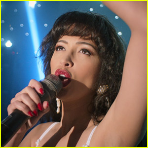 Christian Serratos Explains Why She Doesn't Sing in 'Selena' Series on Netflix