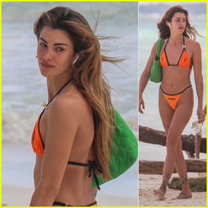 Model Clara Berry Enjoys a Day at the Beach After Boyfriend KJ Apa's Sweet Birthday Tribute