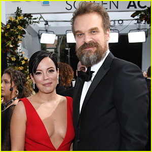 David Harbour Gushes Over Wife Lily Allen: She's A 'Beautiful, Incredible Woman'