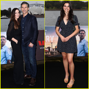 Eric Bana is Supported by Wife Rebecca & Daughter Sophia at 'The Dry' Screening in Sydney