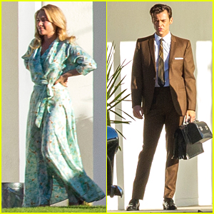 Florence Pugh & Harry Styles Head to Palm Springs For New 'Don't Worry Darling' Scenes