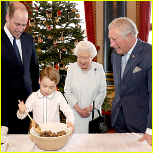 Prince George Bakes Up Holiday Pudding With Prince William, Prince Charles & Queen Elizabeth in Sweet Throwback Photos