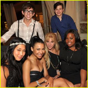 Naya Rivera's 'Glee' Co-Stars Launch Fundraiser For Her Favorite Charity