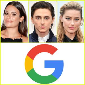 Google Reveals the 10 Most-Googled Actors & Actresses of 2020