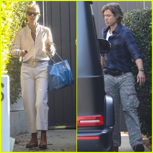 Gwyneth Paltrow & Brad Falchuk Get in an Early Morning Couple's Workout