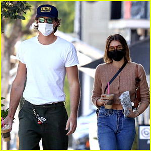 Euphoria's Jacob Elordi Grabs Coffee with Girlfriend Kaia Gerber, Days Before New Episode Premieres