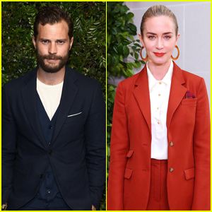 Jamie Dornan Trolls Emily Blunt's Attempt at Pouring a Pint of Guinness