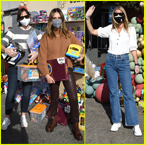 Jennifer Garner, Jessica Alba & Gwyneth Paltrow Hand Out Gifts During Baby2Baby Event