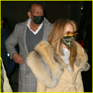 Jennifer Lopez & Alex Rodriguez Bundle Up in Stylish Outfits for Night Out in NYC