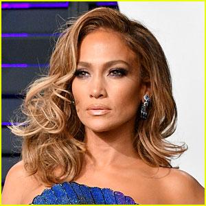Jennifer Lopez Wears Epic Red Dress for Christmas Eve!