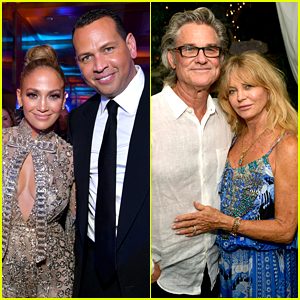 Jennifer Lopez Dishes On If She & Alex Rodriguez Might Follow In The Footsteps Of Goldie Hawn & Kurt Russell With Their Wedding