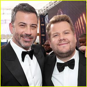 Jimmy Kimmel & James Corden Had a Cute Twitter Exchange Today - Read It Now!