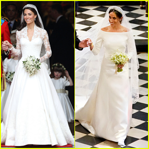 Embroiderer Who Helped Make Kate Middleton & Meghan Markle's Wedding Dresses Is Struggling to Feed Her Kids Amid Pandemic
