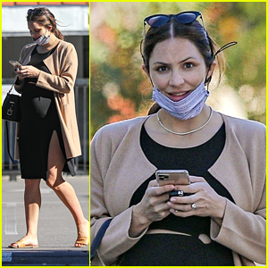 Pregnant Katharine McPhee Shows Off Baby Bump on Instagram For First Time
