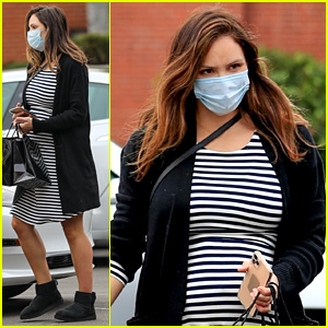 Pregnant Katharine McPhee Does Some Last Minute Shopping Ahead of Christmas