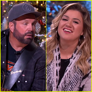 Kelly Clarkson Covers 'Shallow' on Her Talk Show Alongside Garth Brooks! (Video)