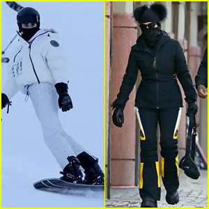 Kendall Jenner Hits the Slopes in Aspen While Mom Kris Shops Around Town