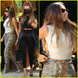 Kim Kardashian Steps Out Amid Report That She & Kanye West Are Living 'Separate Lives'