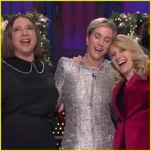 Kristen Wiig, Maya Rudolph, & Kate McKinnon Sing About Their Favorite Things on 'SNL' - Watch Now!
