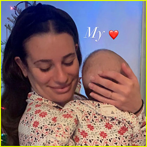 Lea Michele Shares Sweet Photos from First Christmas with Son Ever!