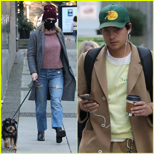 Lili Reinhart & Cole Sprouse Seen Out Separately In Vancouver Over The Weekend