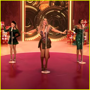 Mariah Carey Teams Up with Ariana Grande & Jennifer Hudson for 'Oh Santa!' Remix - Watch the Music Video!