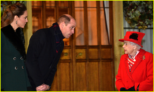 Here's What Prince William Said to Queen Elizabeth After Rare Public Appearance Together