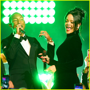 Pharrell Williams Opens Up About Working With Rihanna on 'R9'