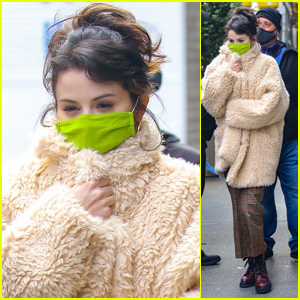 Selena Gomez Continues to Film 'Only Murders in the Building' in NYC