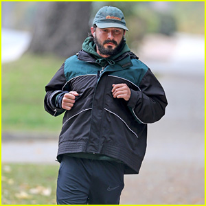 Shia LaBeouf Goes For a Run After Responding to FKA twigs' Lawsuit Against Him