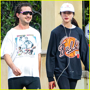 Shia LaBeouf & New Flame Margaret Qualley Go For a Jog Together