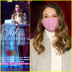 Sutton Foster Hosts Holiday Event at Saks Fifth Avenue