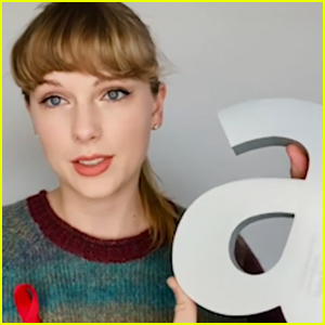 Taylor Swift Promises to 'Always Advocate' for LGBTQ+ Community During Attitude Awards 2020 Acceptance Speech - Watch!