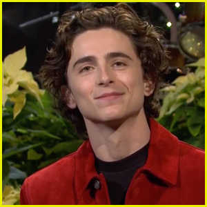 Timothee Chalamet Reflects on Christmas in NYC in 'Saturday Night Live' Monologue - Watch!