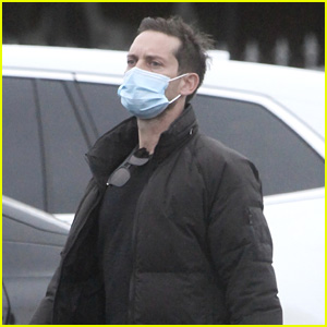 Tobey Maguire Spotted Out & About on Christmas Day