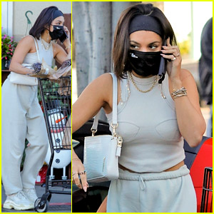 Vanessa Hudgens Reveals What a Guy at the Grocery Store Said About This Outfit She's Wearing