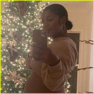 Victoria Monet Shares a Photo of Her Growing Baby Bump - See the Pic!