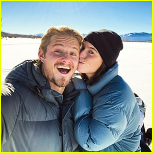 'Vikings' Star Alexander Ludwig Elopes With Fiancee Lauren Dear!