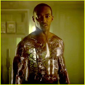 Anthony Mackie Is A Shirtless Cyborg In The Newest Trailer For Netflix's 'Outside The Wire'