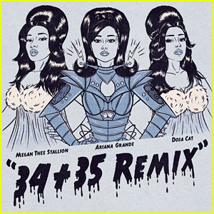 Ariana Grande Drops '34+35' Remix Featuring Two of Rap Music's Hottest Female Stars - Listen Now!