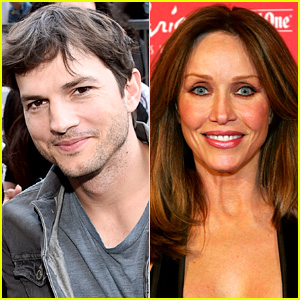 Ashton Kutcher Is Telling His 'That '70s Show' Co-Star That Tanya Roberts Is Still Alive
